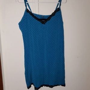 5/$25 bundle offer! Blue & black nightie (XXL)